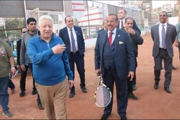 استقبل سفير التطبيع.. هجوم على مرتضى منصور بعد زيارة الملياردير الإمارتي (فيديو)