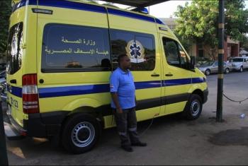 مصرع شاب وإصابة سائق في حادث تصادم أمام قرية الجوسق ببلبيس