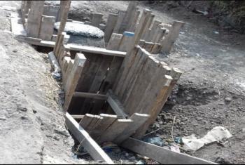 شكوى من تأخر مشروع الصرف الصحي بقرية في كفر صقر