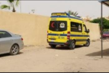 إصابة 12 شخصا إثر انقلاب سيارة ميكروباص بالصالحية الجديدة