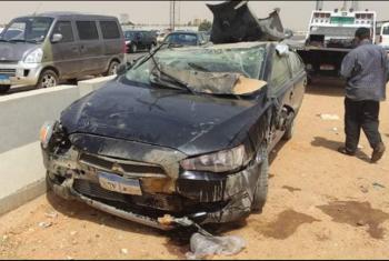 الزقازيق| إصابة 5 أشخاص في حادث بطريق