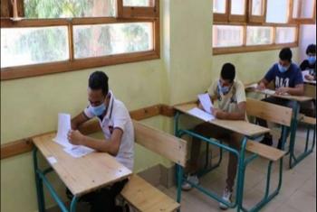 إصابة طالب بذبحة صدرية أثناء امتحان الإنجليزي بكفر صقر