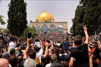 فلسطين  اقتحام الأقصى واعتقال عشرات المقدسيين