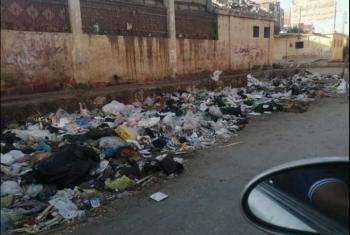 خوفا من الأمراض.. سكان شارع في أبوحماد يشكون انتشار القمامة