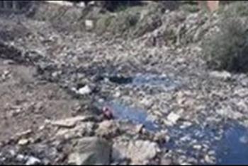 أهالي عزبة الرملي في ديرب نجم يشكون انتشار القمامة