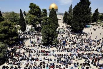 الأقصى فجر العيد الجديد