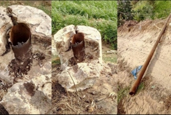 أعمدة الكهرباء المتهالكة كارثة تهدد أهالي قرية حمادة بأولاد صقر