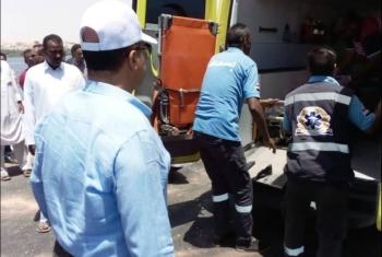 إصابة 13 شخصا في حادث انقلاب سيارة على طريق أكراش ديرب نجم