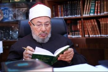 القرضاوي: القدس قضية كل مسلم ويجب دعم المرابطين والمقاومة
