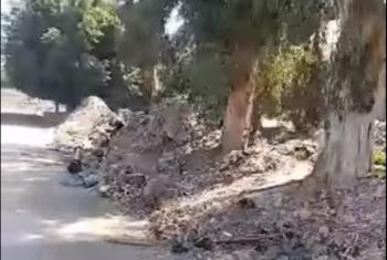الزقازيق.. مخلفات ترعة عزبة النجدي تهدد حياة الأهالي