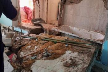 انفجار سخان في شقة بالعاشر من رمضان
