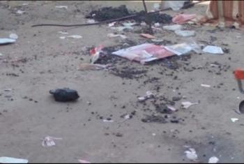 مناشدات لتنظيف مخلفات السوق في القرين