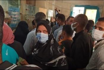 استغاثات من الزحام بمكتب بريد الحسينية