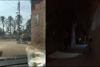 الظلام الدامس يكسو حي بمدينة القرين