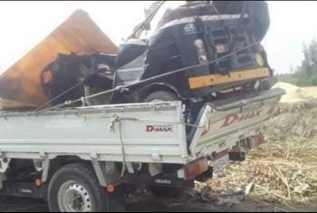مصرع وإصابة 5 أشخاص في حادث تصادم بالحسينية