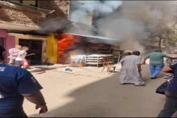مصرع 4 أشخاص وإصابة آخر في انفجار أسطوانة بوتاجاز داخل مخبز بالقاهرة