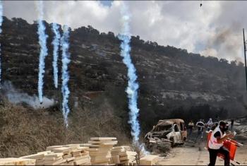 إصابات بقمع الاحتلال مسيرات ضد الاستيطان في الضفة الغربية