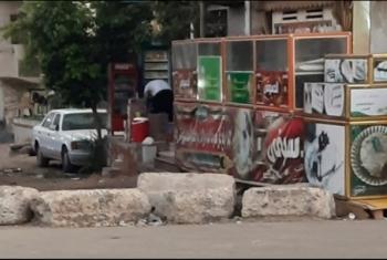 استياء بسب غلق مداخل أبوحماد البلد