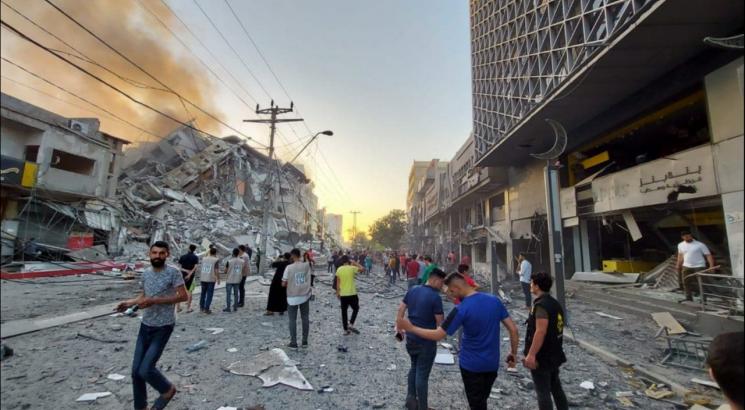 ارتفاع شهداء عدوان الاحتلال على غزة إلى 65 شهيداً