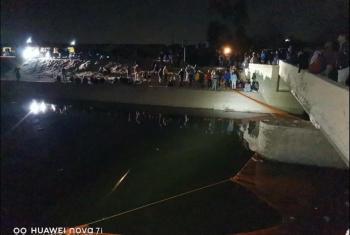 غرق شقيقين في ترعة  بمدينة القرين